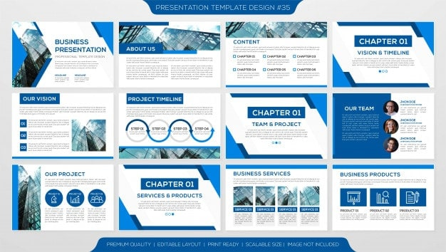pitch deck template free